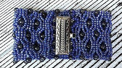 Náramky - náramok Modrá kráľovná - 6976537_