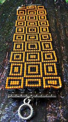 Náramky - náramok Oranž - 6976583_