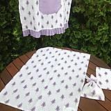 Úžitkový textil - Levanduľový set - 6978157_