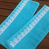 Úžitkový textil - Uteračiky tyrkysové - 6978227_
