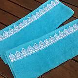 Úžitkový textil - Uteračiky tyrkysové - 6978229_