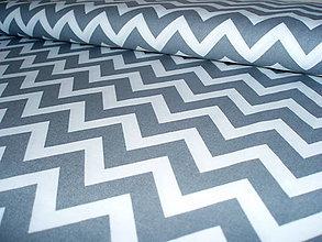 Textil - Remix Chevron Grey - 6978772_