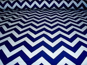 Textil - Remix Chevron Navy - 6978827_