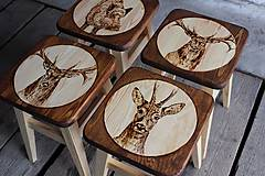 Nábytok - Drevené stolčeky - 6977619_
