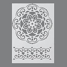 Pomôcky/Nástroje - Šablóna na maľovanie Mandala a ornament - 6977083_
