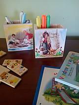 Detské doplnky - Organizér na pastelky - 6976942_