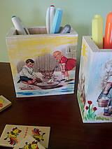 Detské doplnky - Organizér na pastelky - 6976946_