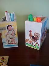 Detské doplnky - Organizér na pastelky - 6976948_
