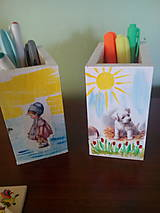 Detské doplnky - Organizér na pastelky - 6976950_
