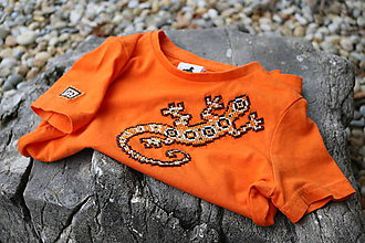 Tričká - detské tričko Jašterička - 6976709_