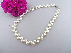 Náhrdelníky - pravé perly náhrdelník - 6976730_