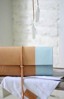 Kabelky - Listová kabelka MINI BLUE INDIAN SUMMER EDITION - 6977380_