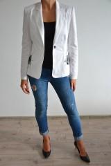 Iné oblečenie - Biele pavučinkové sačko - 6977093_