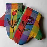 Úžitkový textil - SAMÝ KYTKY - chňapky - 6980005_