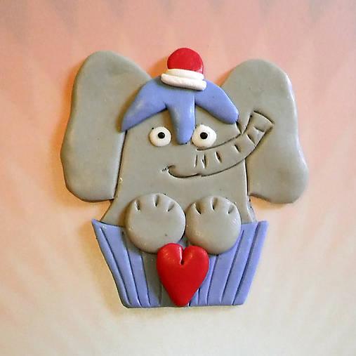Okydaná zamilovaná zver (sloník NA ZÁKAZKU)