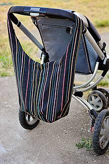 Textil - V štýle plážovej tašky - 6981553_