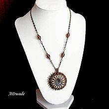 Náhrdelníky - Korálkový náhrdelník 589-0023 - 6981961_