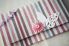 Papiernictvo - Scrapbook obálka na peniaze - krst - 6980874_