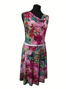 Šaty - pestré šaty - 6980972_