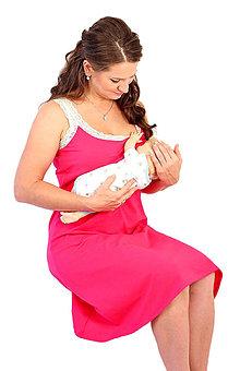 Tehotenské/Na dojčenie - 3v1 dojčiace šaty s čipkou veľ. XS-M - 6980735_
