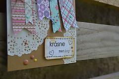 Papiernictvo - Meninová pohľadnica - 6981365_