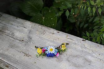 Ozdoby do vlasov - Kvetinový štvrťvenček \