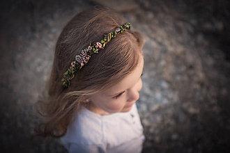 Ozdoby do vlasov - Detský venček \