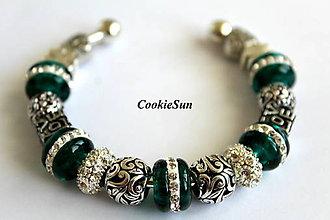 Náramky - Náramok Pandora Emerald - 6982094_