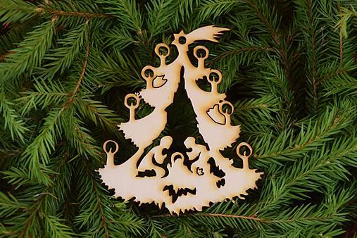 Drevené vianočne ozdoby z dreva 30
