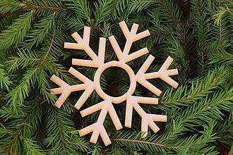 Polotovary - Drevené vianočne ozdoby z preglejky 11 - 6982719_