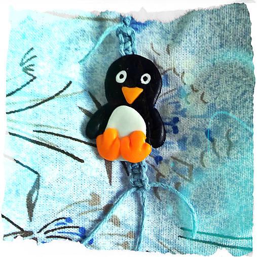 Tučniak Shamballa kľúčenka