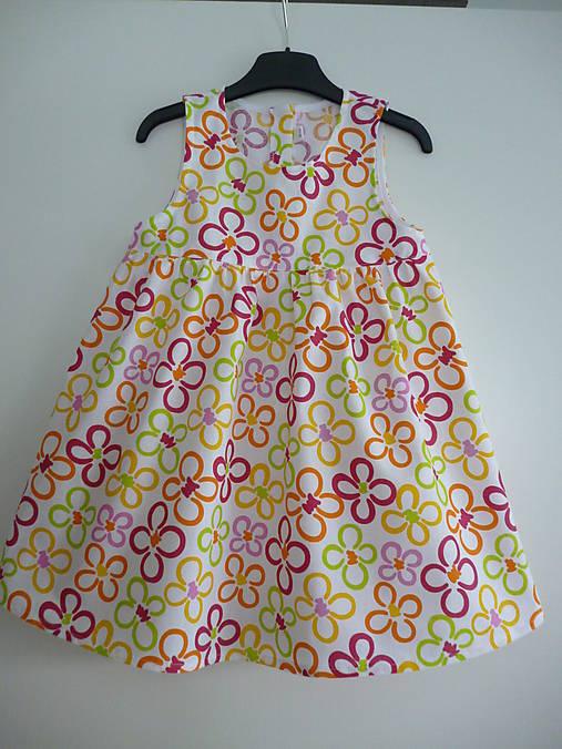Bavlnené letné šaty V - 98 104   dievcatkovo - SAShE.sk - Handmade ... 901c5c2cfc5