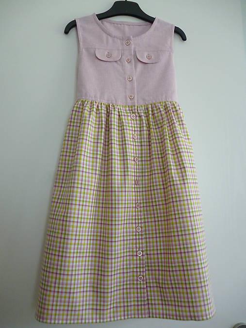 Letné šaty kárované V - 122   dievcatkovo - SAShE.sk - Handmade ... 034d47ead00