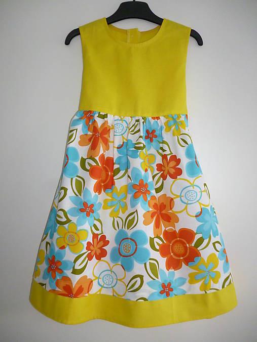 Veselé bavlnené šaty V - 116   dievcatkovo - SAShE.sk - Handmade ... 016b9aa32eb