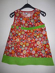 Detské oblečenie - Šaty veselé V - 86/92 - 6984275_
