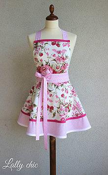 Iné oblečenie - zástera Pink Roses - 6985239_