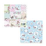 Papier - Papier obojstranný 30,5x30,5cm A Furry Little Story - Kitty Cards 2 - 6984500_