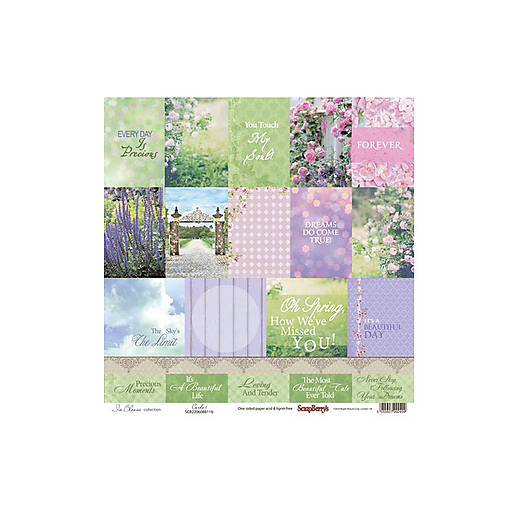 Papier 30,5x30,5cm In Bloom - Cards 1