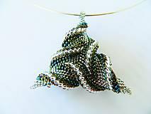 Náhrdelníky - Silver triangolo náhrdelník - 6984071_