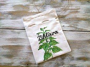 Úžitkový textil - bylinkové vrecúško Žihľava - 6985325_