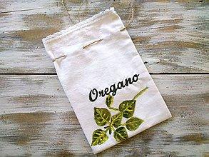 Úžitkový textil - bylinkové vrecúško Oregano - 6985382_