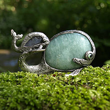 Iné šperky - Veľrybka s mláďatkom - 6987438_