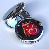 Zrkadielka - Laurel Burch II. - zrcátko do kabelky (menší) - 6987611_