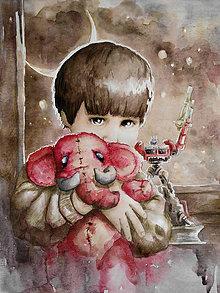 Obrazy - Ilustrácie na zákazku - akvarel - 6987631_