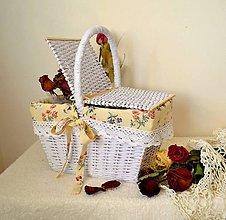 Košíky - Košík od babičky - 6985861_