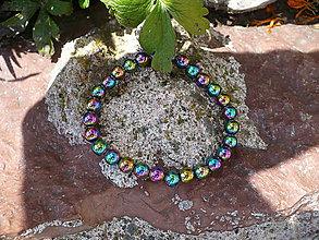 Náramky - náramok z Hematitu dúhového pre Baran, RAk - 6987099_
