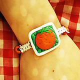 Náramky - Shamballa náramok pomaranč NA ZÁKAZKU - 6986725_