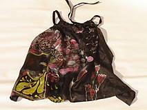 Topy - Hodvábny top, čierny, - 6987851_