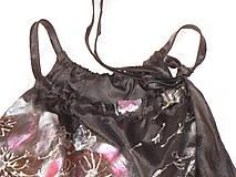 Topy - Hodvábny top, čierny, - 6987852_