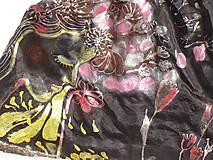 Topy - Hodvábny top, čierny, - 6987858_